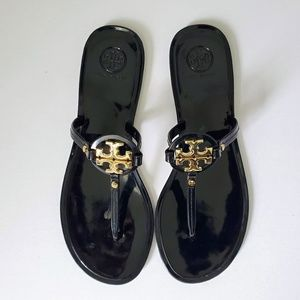 Black Tory Burch Jelly Sandals - Size 9